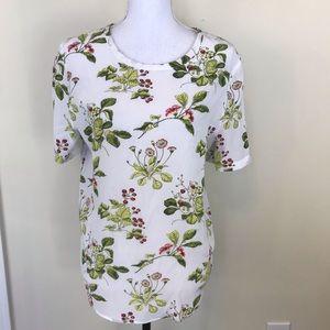Equipment Tops - Equipment silk blouse floral